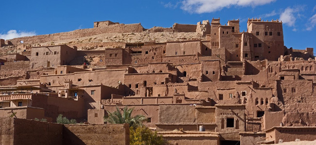 Day one of our two days tour to desert from Marrakech visiting Ait ben Haddou