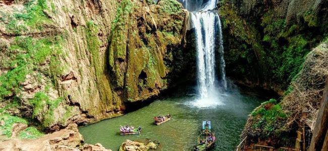 从马拉喀什到乌苏德瀑布的一日游