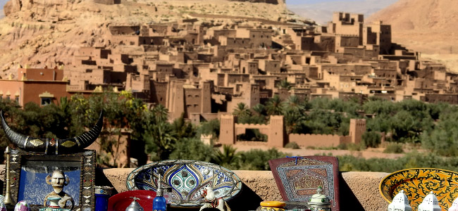 Day one of our 4 days tour to desert from Marrakech visiting Ait ben Haddou